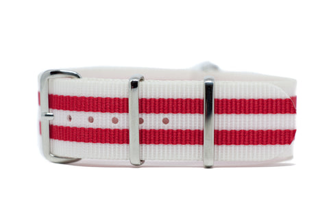 The Medina Premium Nylon Strap w/Polished Hardware