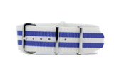 22mm Premium NATO Strap w/Polished Hardware