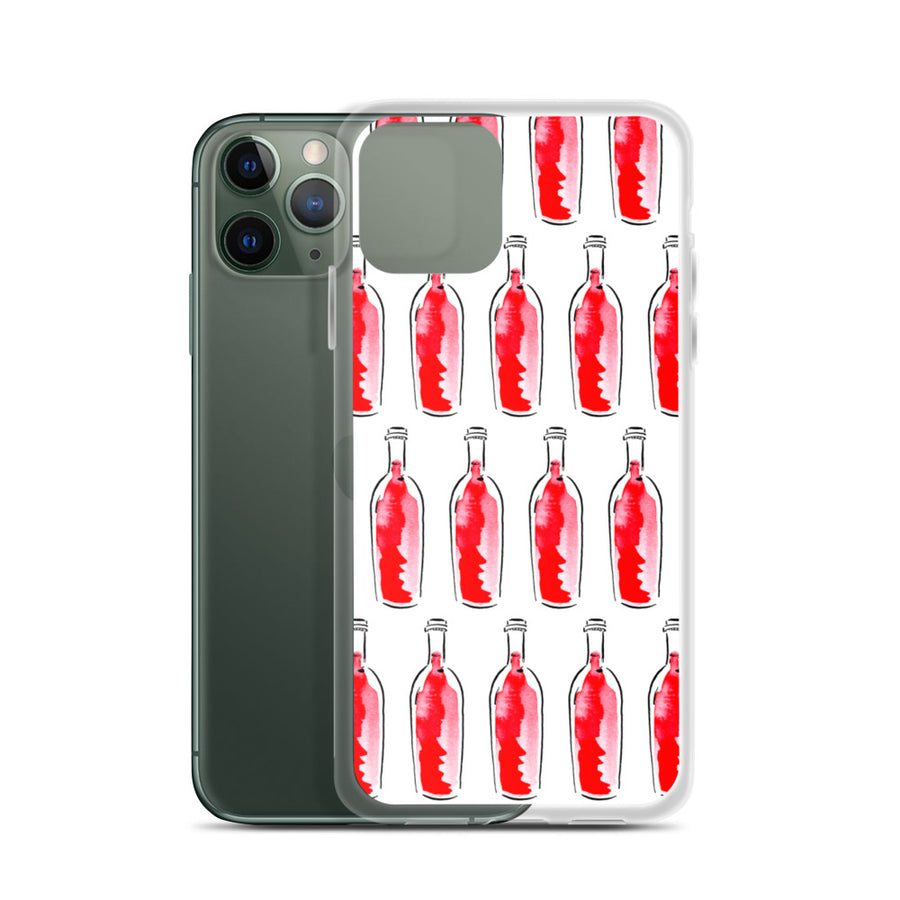 Red Wine Artwork - iPhone Case