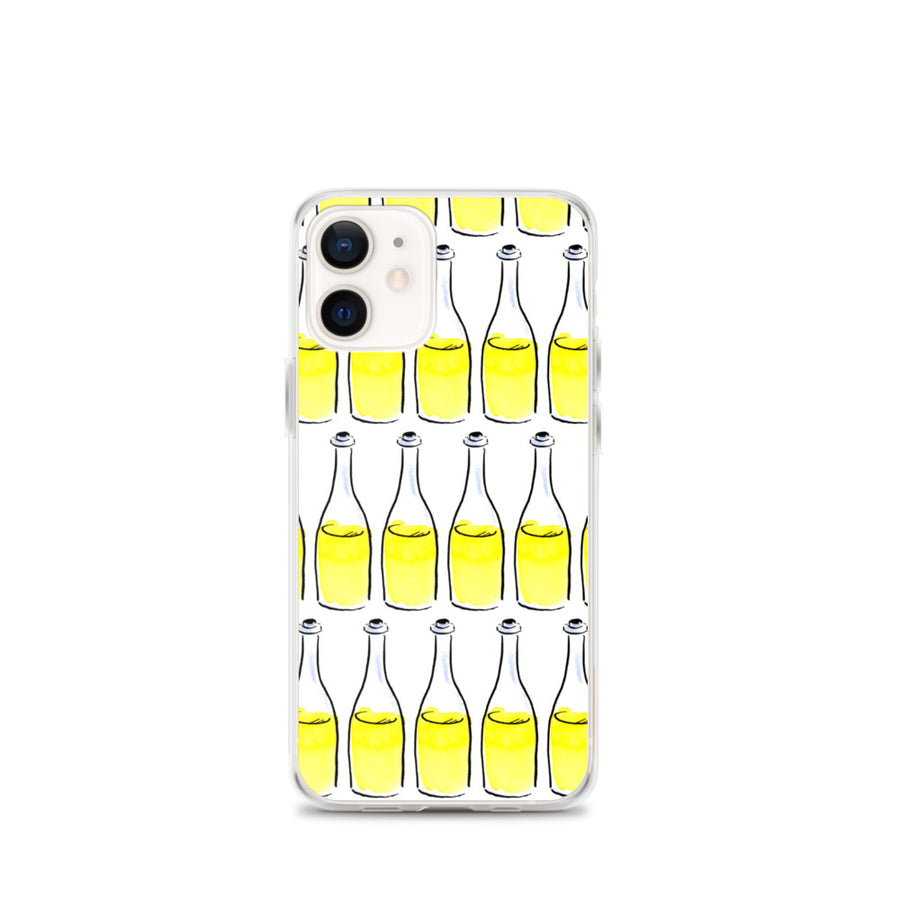 White Wine Artwork iPhone Case