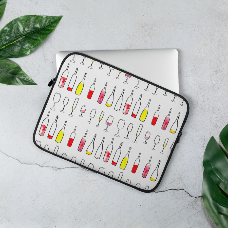 Everything Wine Laptop Sleeve