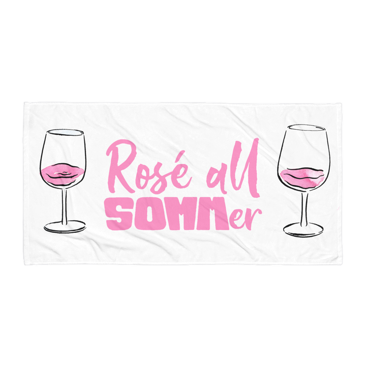Beach Towel - Rosé All SOMMer