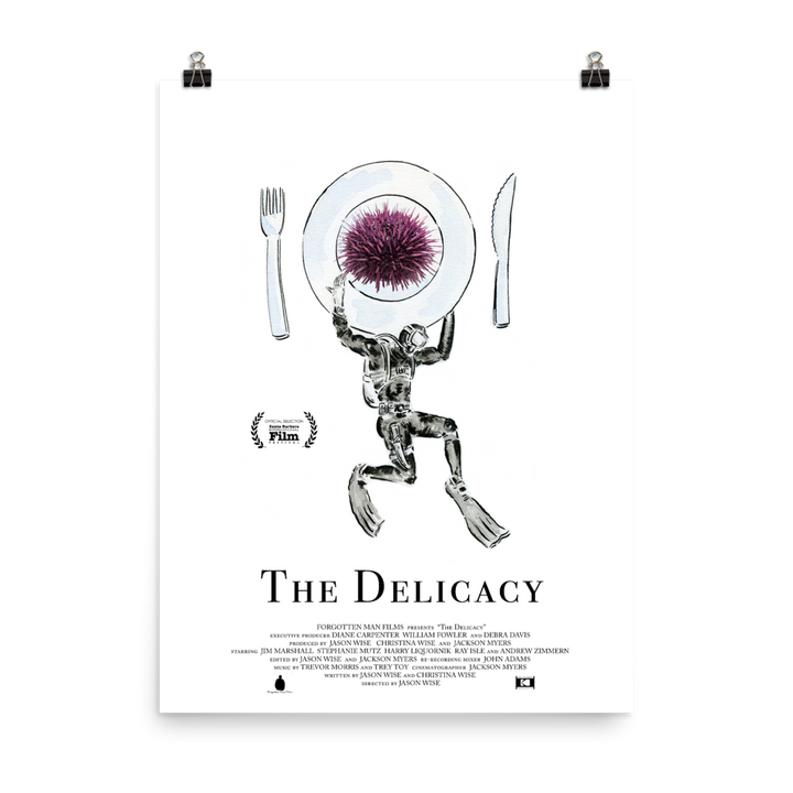 Poster - The Delicacy