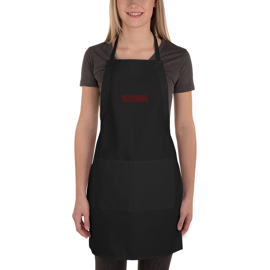 Embroidered Apron - SOMM Logo
