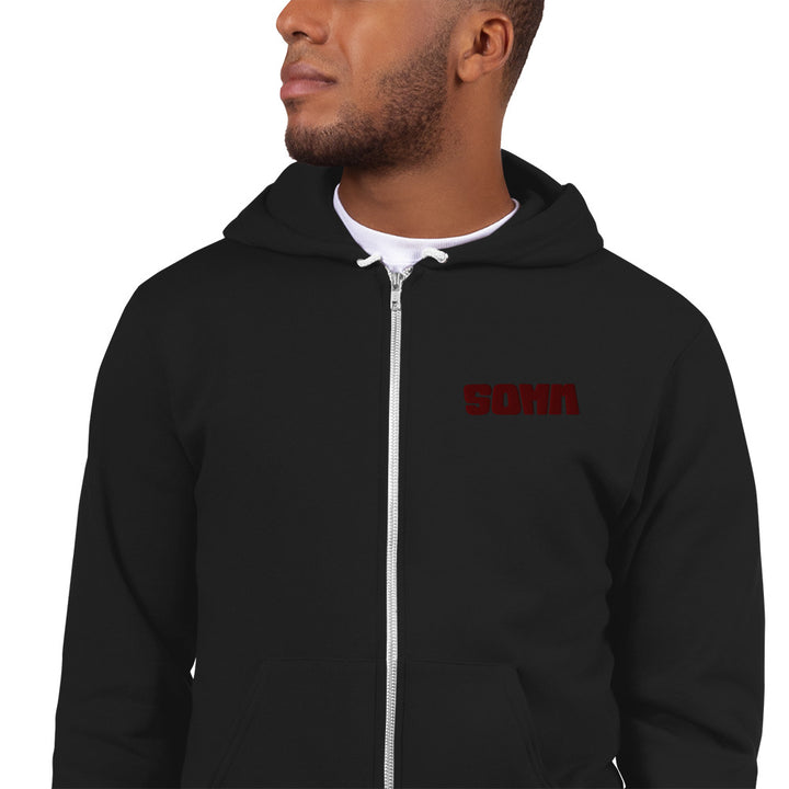 SOMM Zip-Up Hoodie sweater