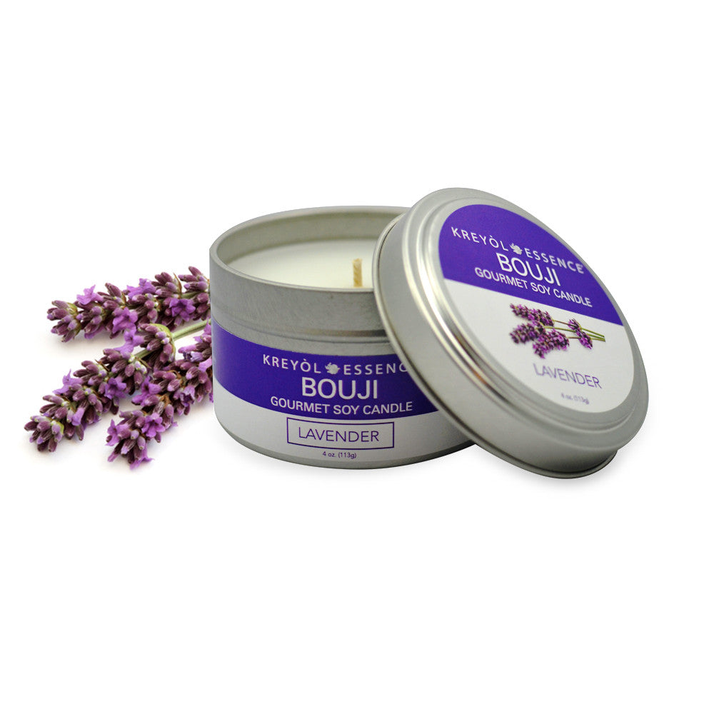 Bouji: Gourmet Soy Candle - Lavender
