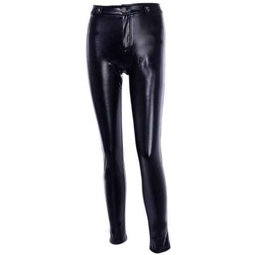 Booty Bang Push Up Leather Pants