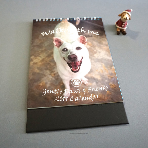 2017 calendar by Gentle Paws