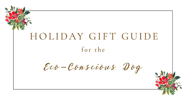 2019 Holiday Gift Guide for the Eco-conscious Dog