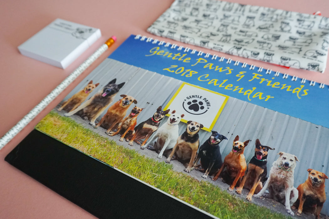 2018 Calendar by Gentle Paw Animal Shelter 3