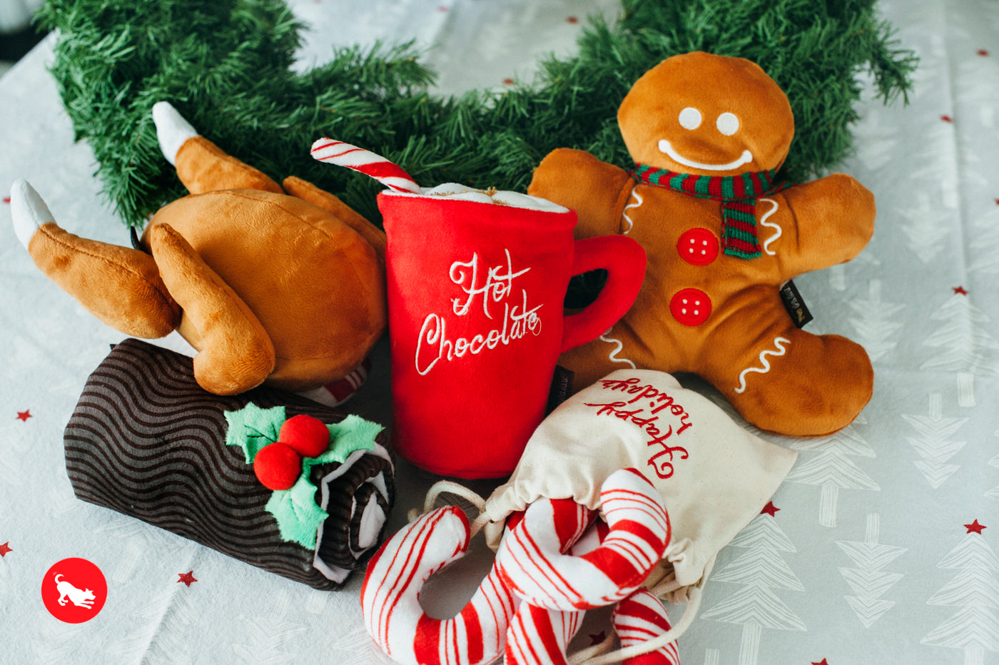 P.L.A.Y. Holiday Classic Dog Toys