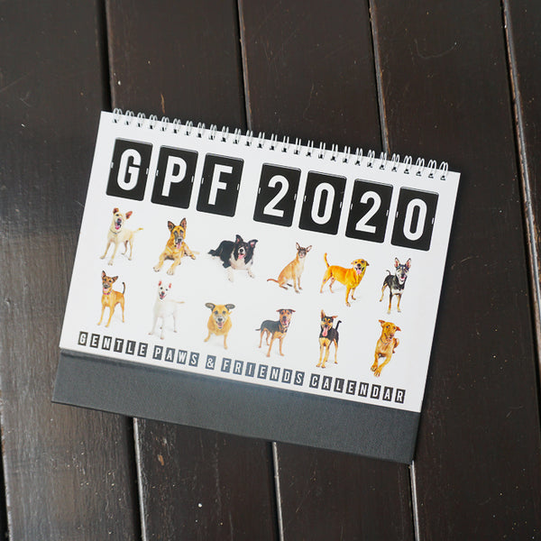 2020 Calendar: Gentle Paws Dog Shelter
