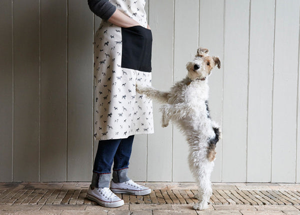 Apron: All-breed print