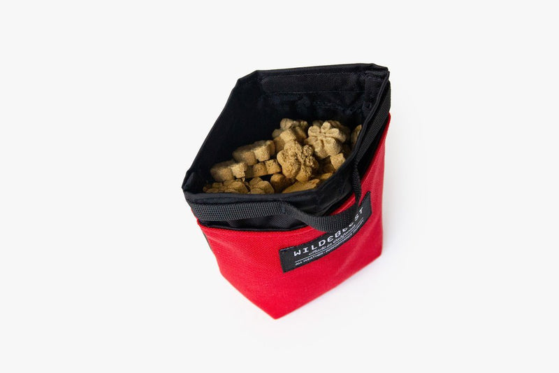 Alamo Dog Treat Training Pouch Red