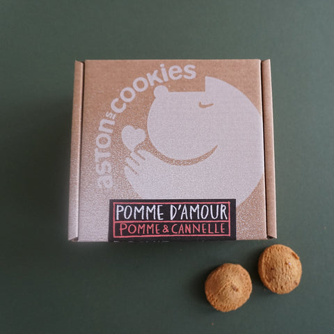 Astons Cookies Dog Treats Pomme d'Armour Pomme and Canalle Apple and Cinnamon