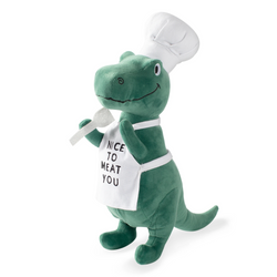 BBQ Rex Dog Squeaky Plush toy