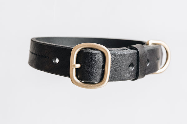 Fir Leather Collar for Dogs