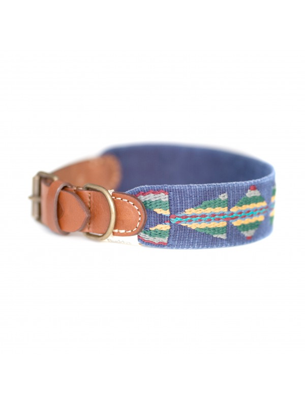 Dog Collar: Etna Blue