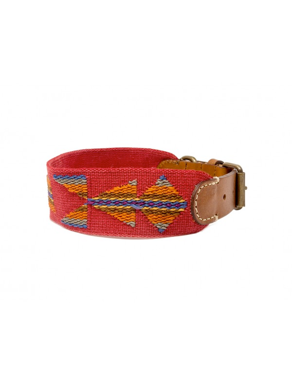 Dog Collar: Etna Red