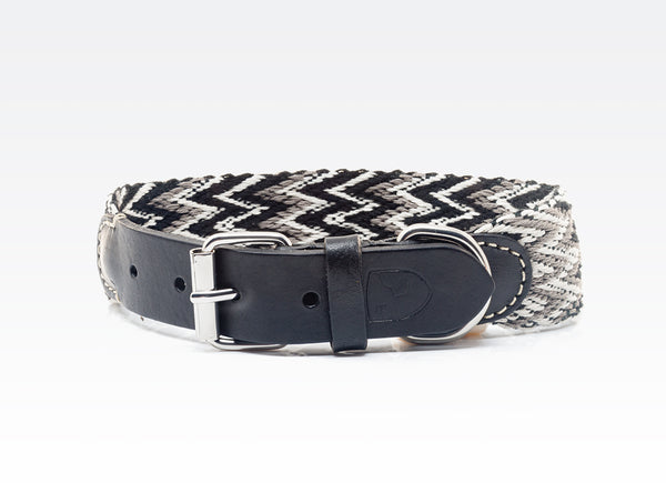 Dog Collar: Peruvian Black