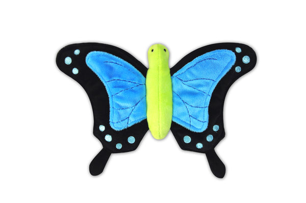 Bugging Out dog toys P.L.A.Y. Butterfly RhinoBeetle Worm Bee LadyBug