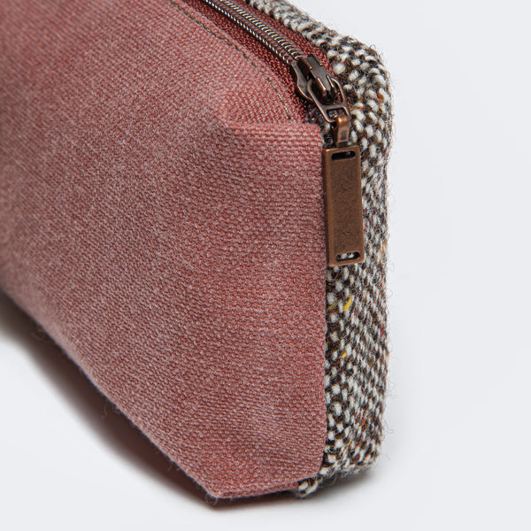 Cloud7: Little Tweed Bag in Red
