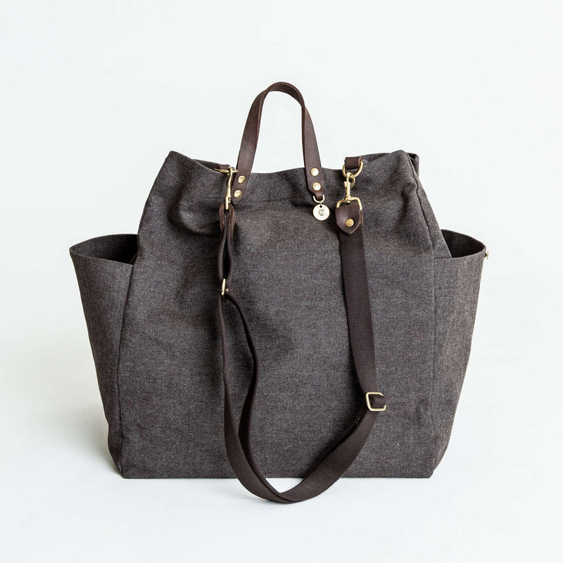 Cloud7: All-in Bag in Heather Brown