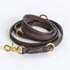 Cloud7 Tiergarten Nubuck Dog Adjustable Leash in Mocca