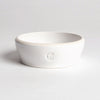 Cloud7 Jamie Dog Food and Water Bowl, White