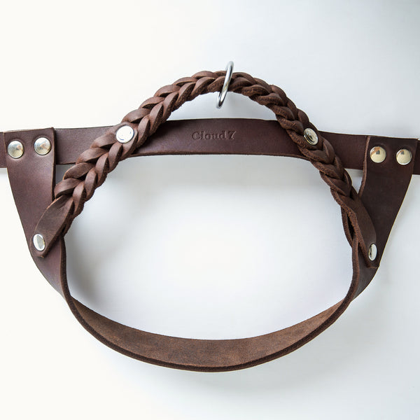 Cloud7: Central Park Saddle Brown Leather Harness