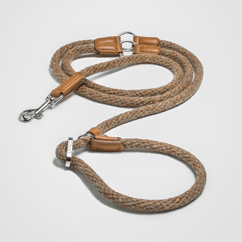 Cloud7: Vondelpark Dog Training Leash in Toffee