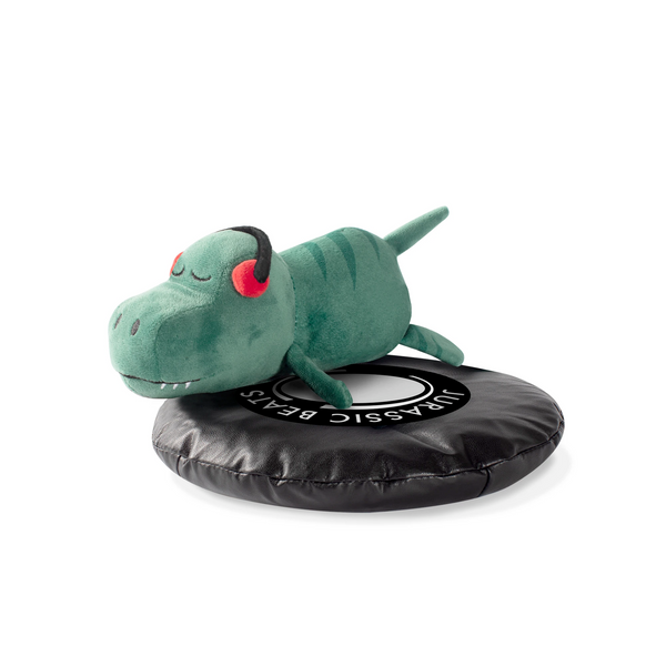 DJ Rexy Rex Dog Squeaky Plush toy