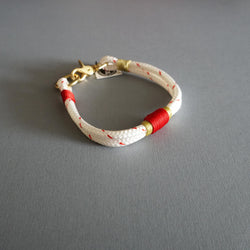 Rugged Hudson Collar: Petite Confetti with Red