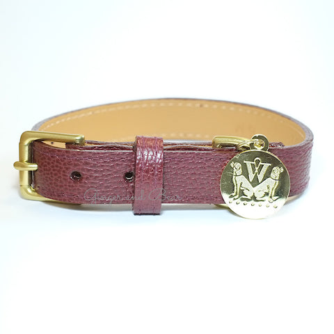 Bleecker Collar - Oxblood