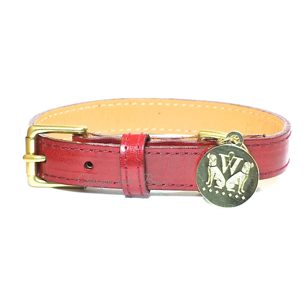 The Big Apple Collar - Red