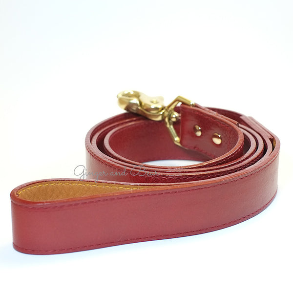 The Big Apple Leash - Red