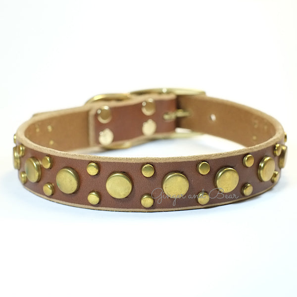 Paco Leather collar - Pickles