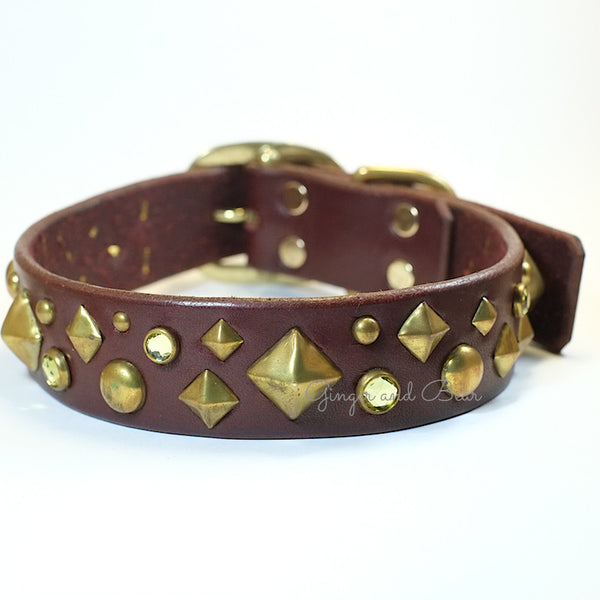 Paco Leather collar - Xdog