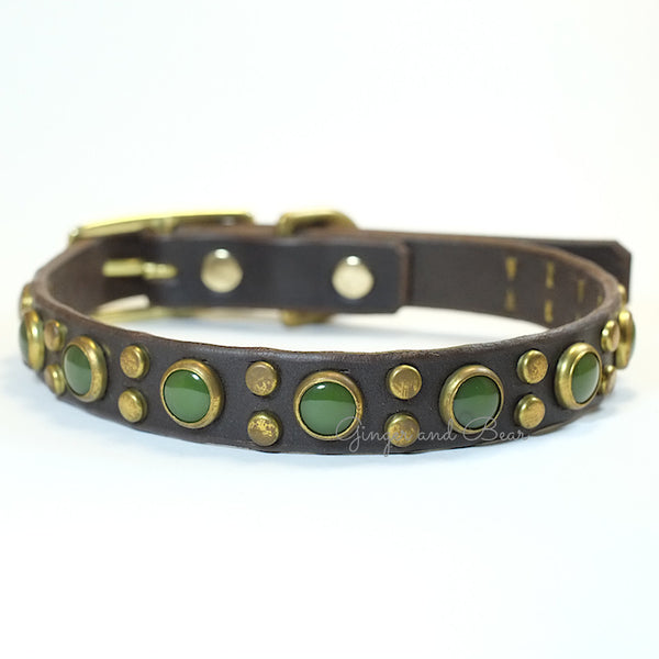 Paco Leather collar - Tween Jojo