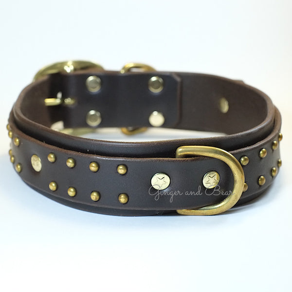 Paco Leather collar - Zuma Deluxe