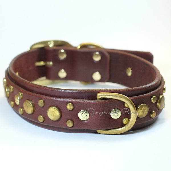 Paco Leather collar - Pickles Deluxe