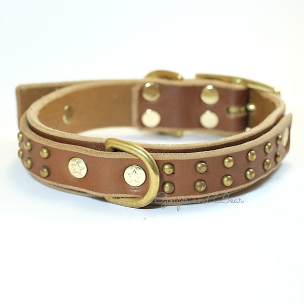 Paco Leather collar - Tween Zuma