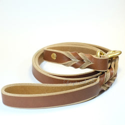 Paco Leather leash - Tan