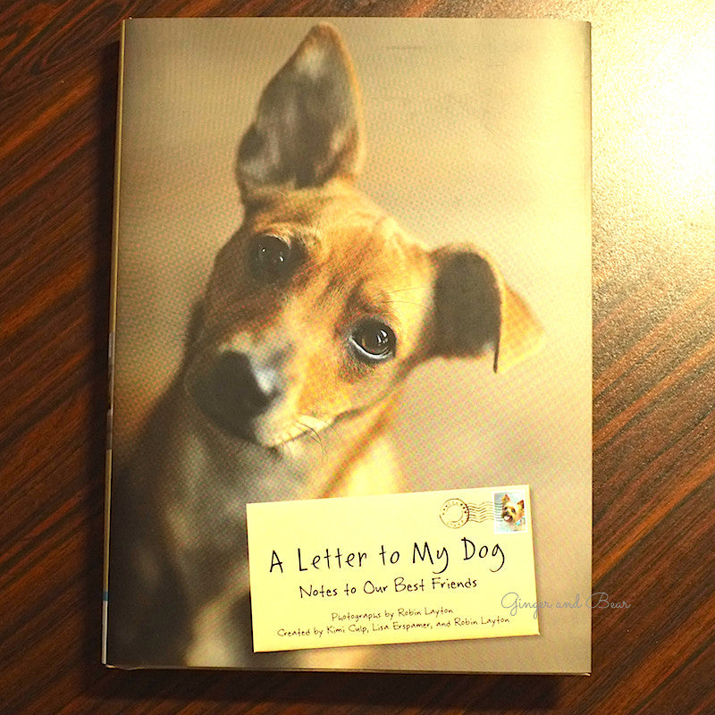 book a letter to my dog