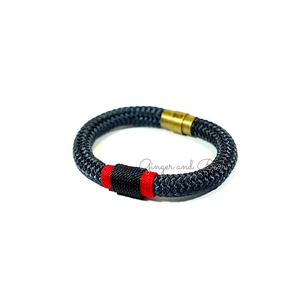 Rugged Eleanor Bracelets: Patriot Navy