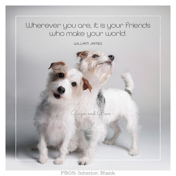 Famous Barks: Friends Make Your World