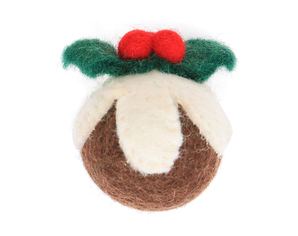 Foggy Dog Festive Figgy Pudding Cat Toy