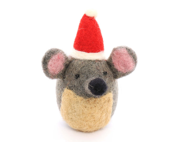 Foggy Dog Festive Mouse Cat Toy