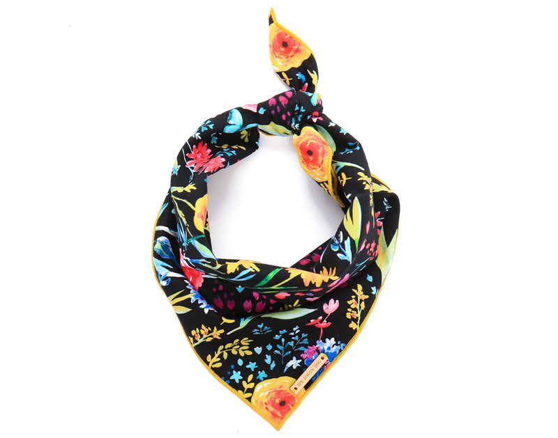 Foggy Dog Garden Party Dog Bandana
