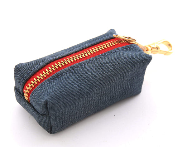Foggy Dog Poop Bag Dispenser Dark Denim